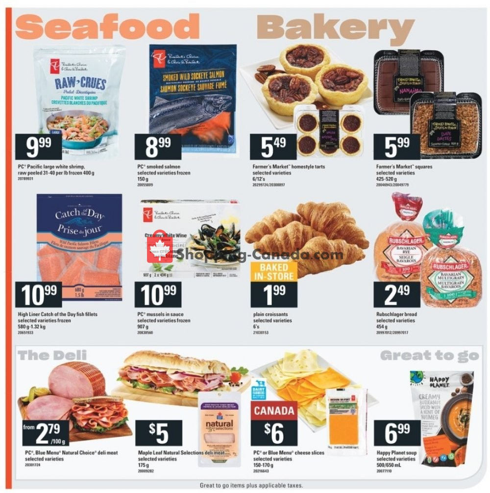 Flyer Independent City Market Canada - from Thursday January 9, 2020 to Wednesday January 15, 2020