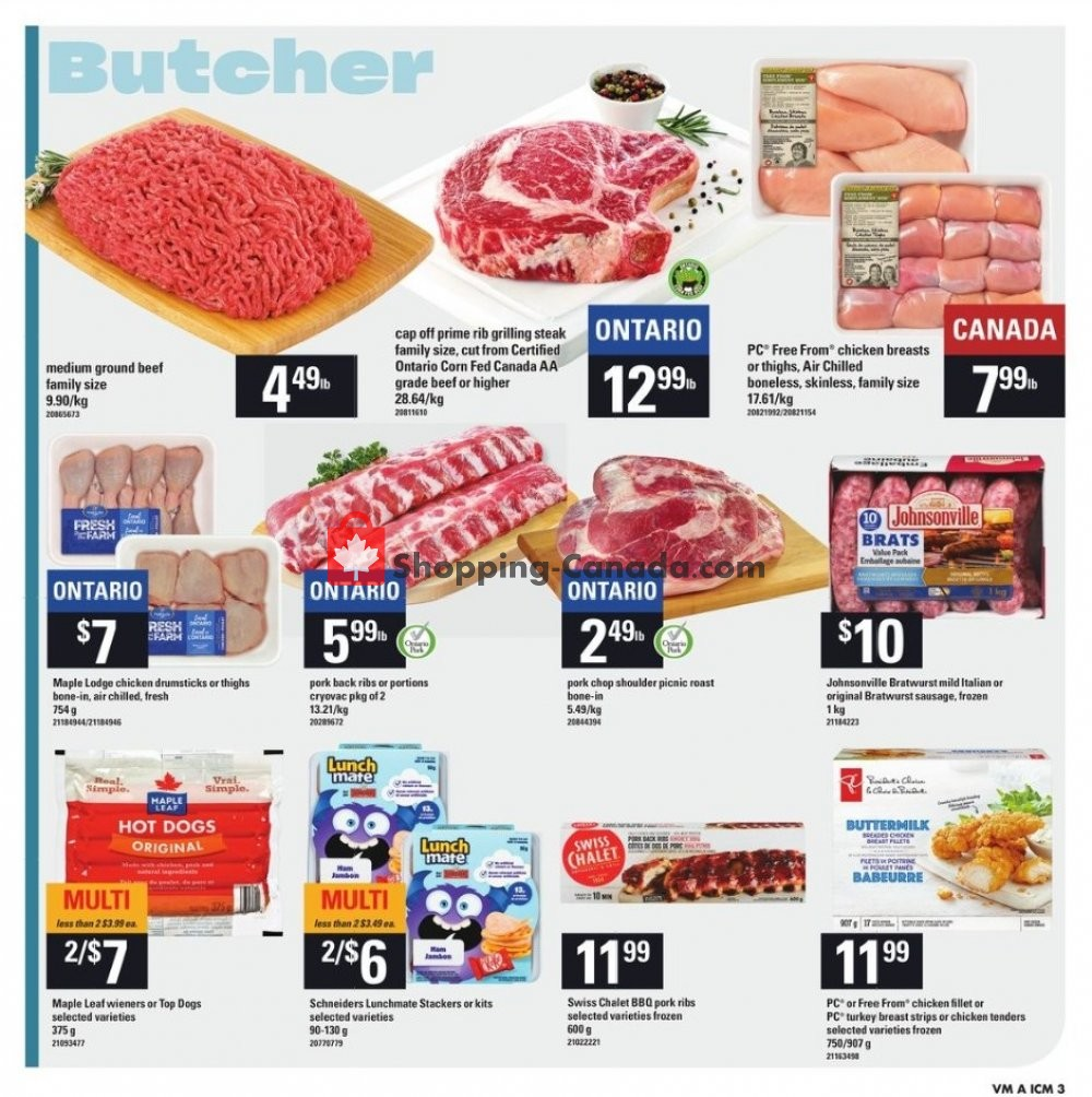 Flyer Independent City Market Canada - from Thursday July 11, 2019 to Wednesday July 17, 2019