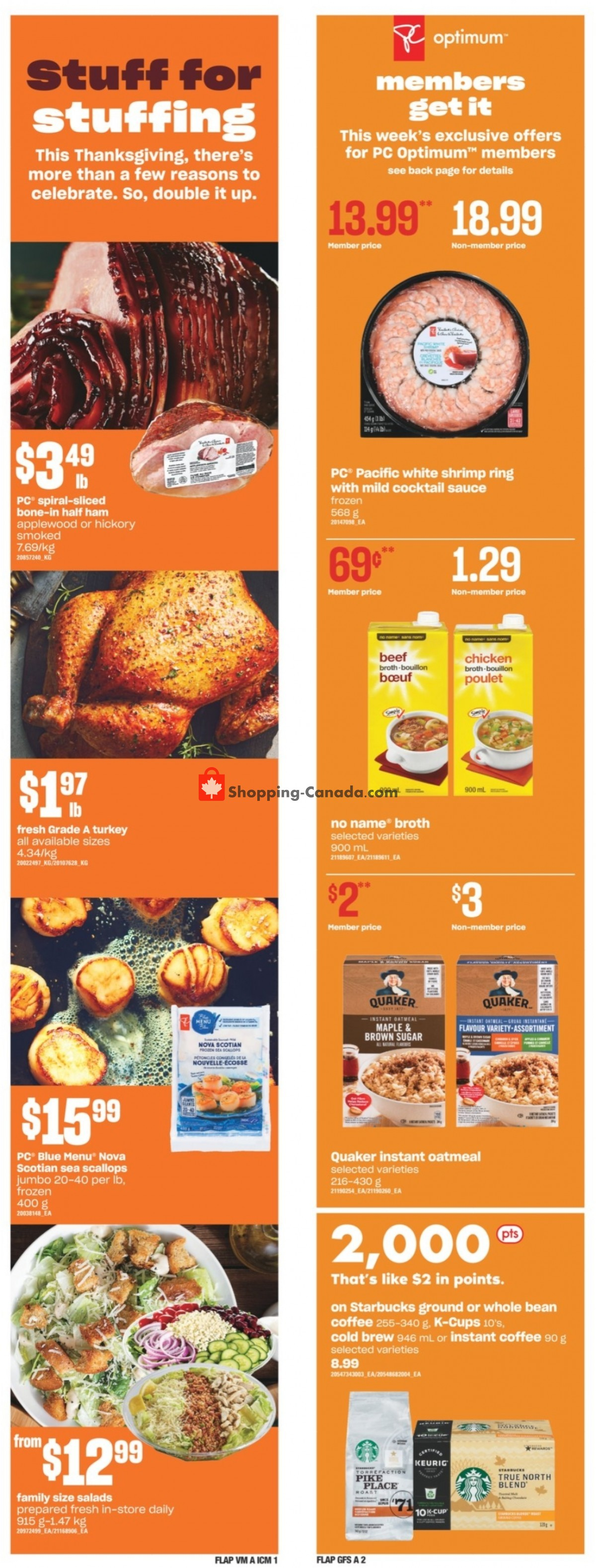 Flyer Independent City Market Canada - from Thursday October 7, 2021 to Wednesday October 13, 2021