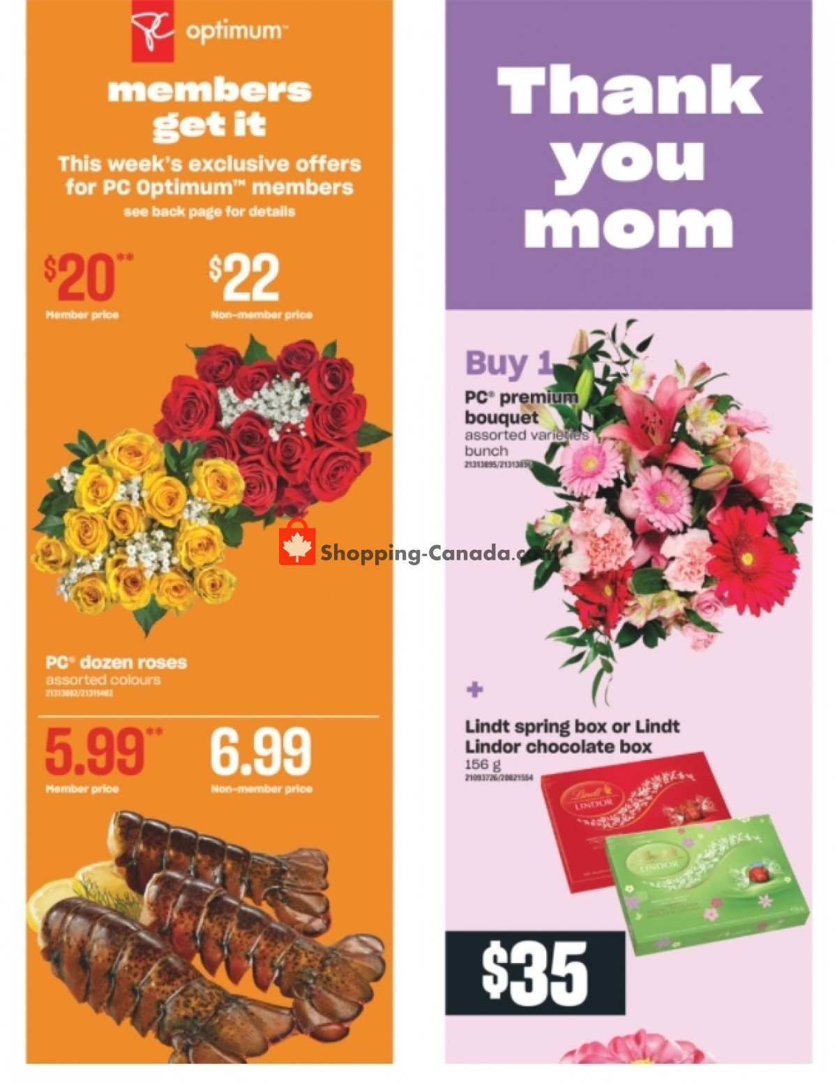 Flyer Independent City Market Canada - from Thursday May 6, 2021 to Wednesday May 12, 2021