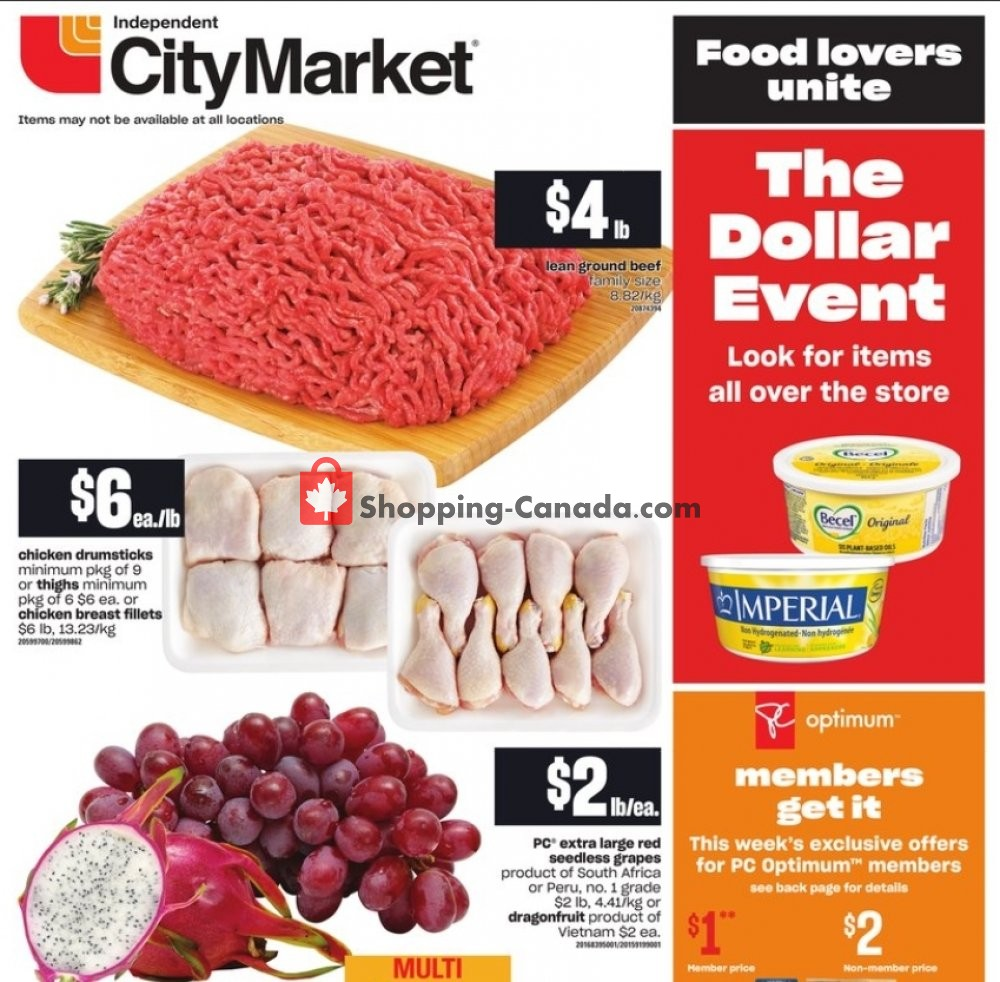 Flyer Independent City Market Canada - from Thursday January 21, 2021 to Wednesday January 27, 2021
