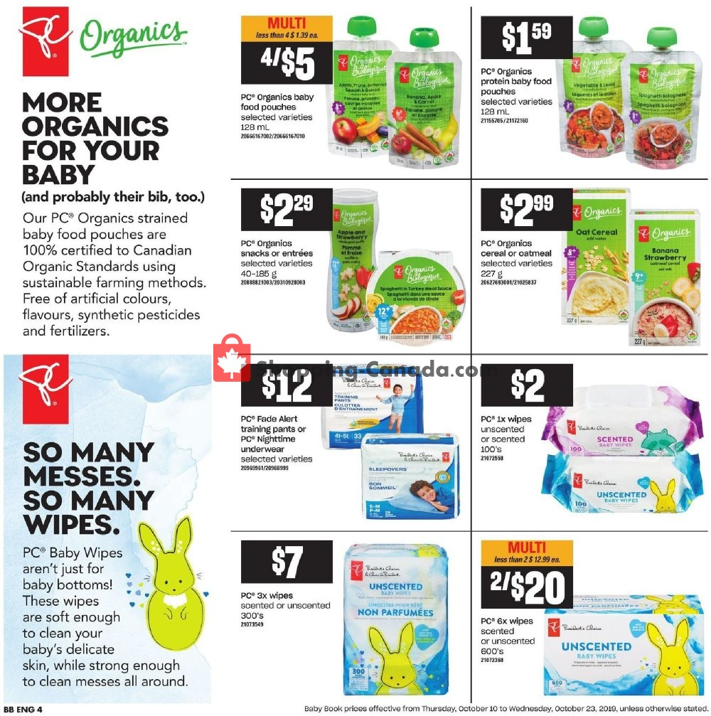 Flyer Independent Grocers Canada - from Thursday October 10, 2019 to Wednesday October 16, 2019