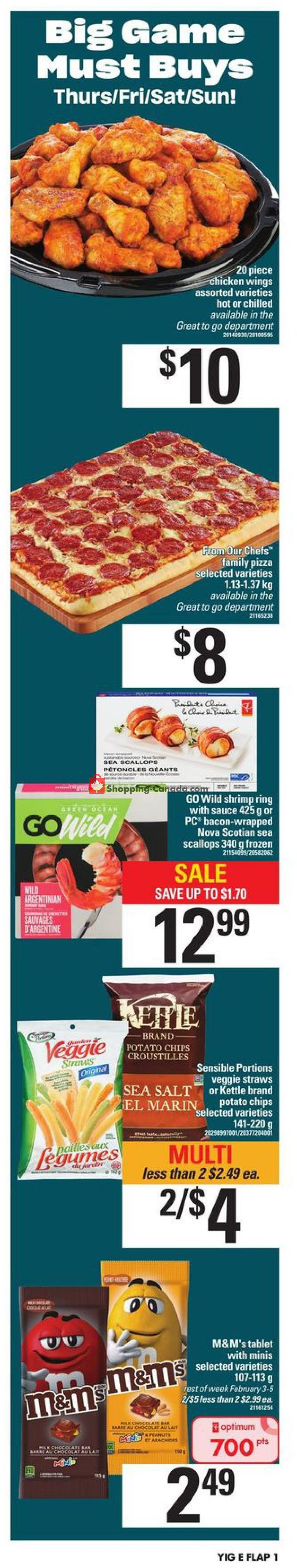 Flyer Your Independent Grocer Canada - from Thursday January 30, 2020 to Wednesday February 5, 2020