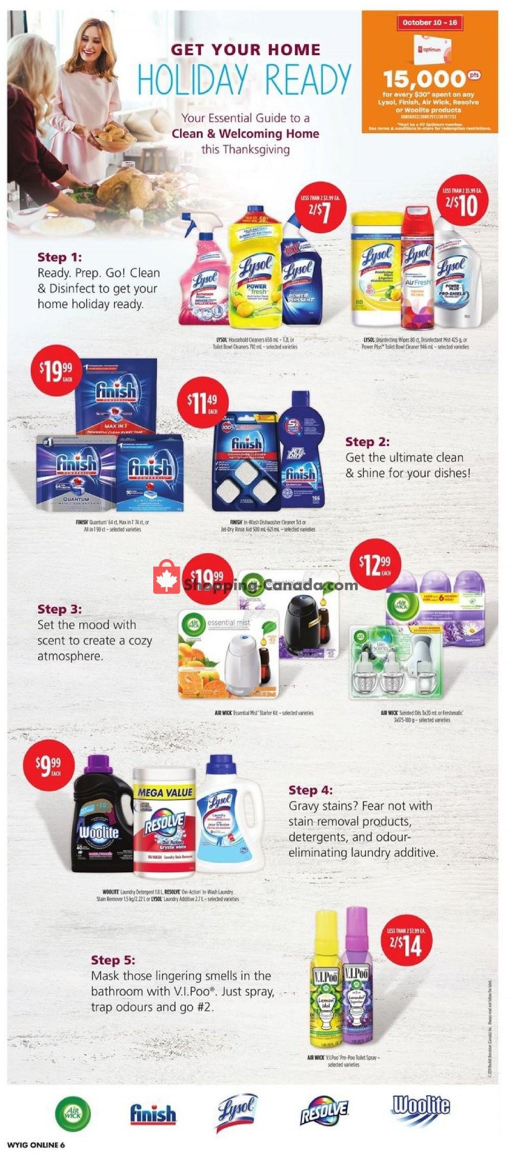 Flyer Your Independent Grocer Canada - from Thursday October 10, 2019 to Wednesday October 16, 2019