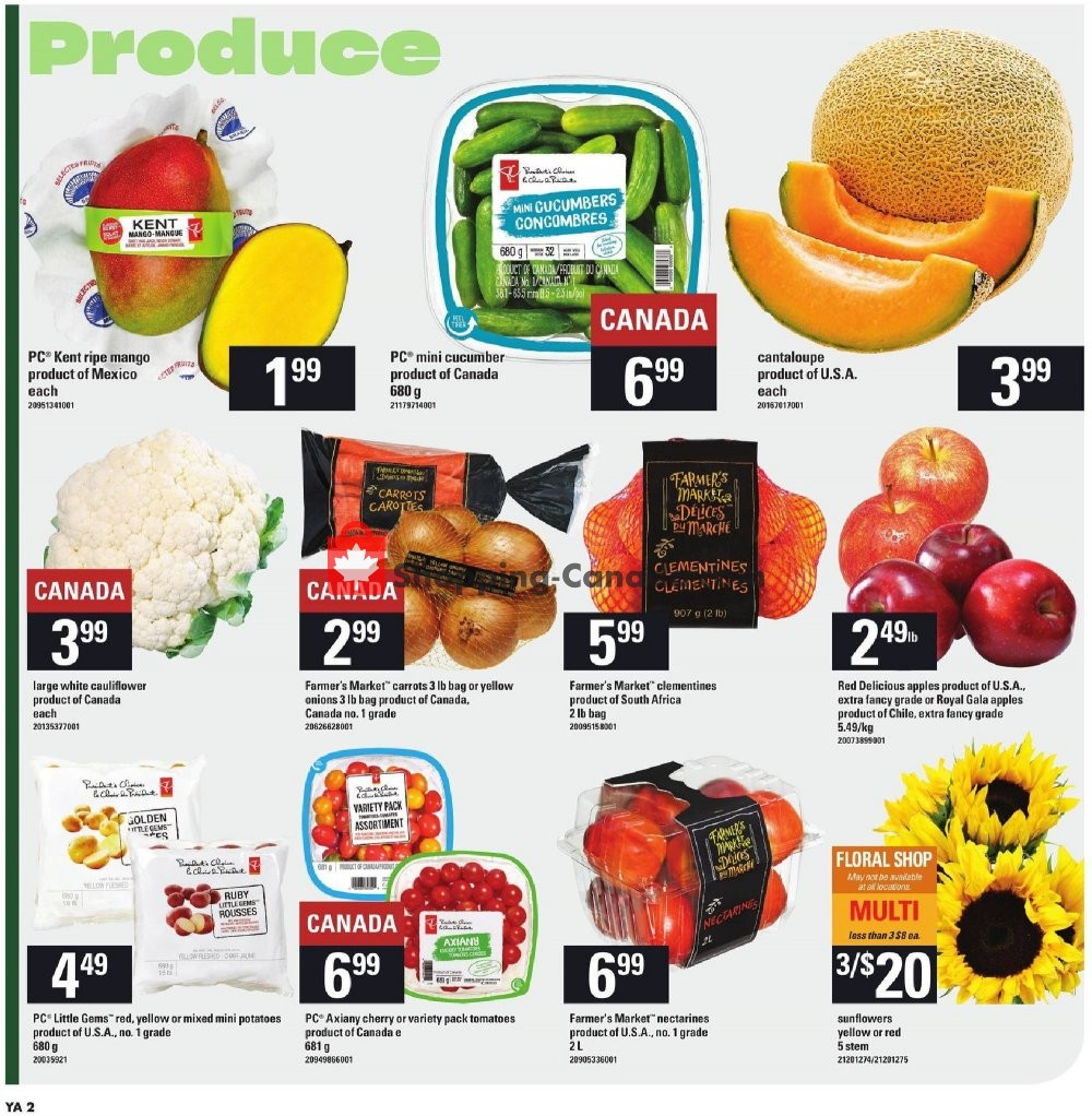 Flyer Independent Grocers Canada - from Thursday July 25, 2019 to Wednesday July 31, 2019