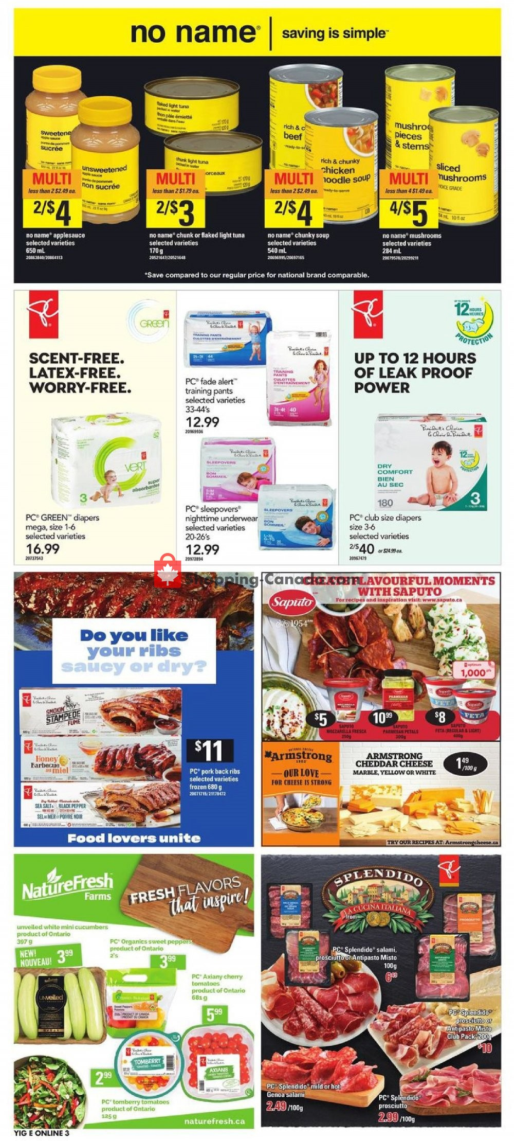 Flyer Independent Grocers Canada - from Thursday July 11, 2019 to Wednesday July 17, 2019