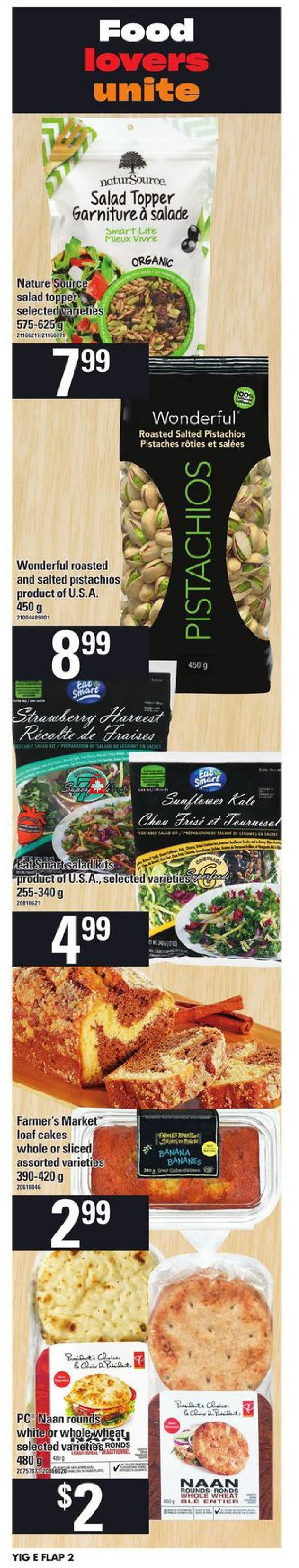 Flyer Your Independent Grocer Canada - from Thursday July 11, 2019 to Wednesday July 17, 2019