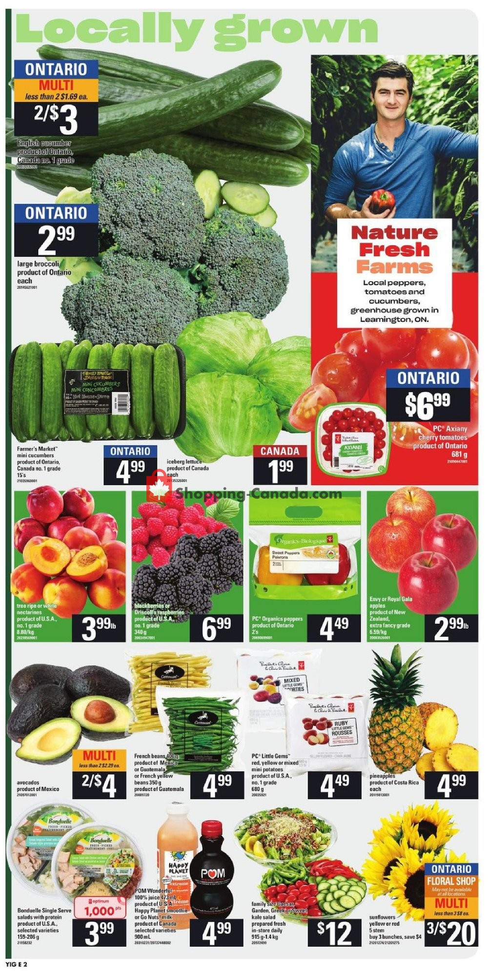 Flyer Your Independent Grocer Canada - from Thursday July 25, 2019 to Wednesday July 31, 2019