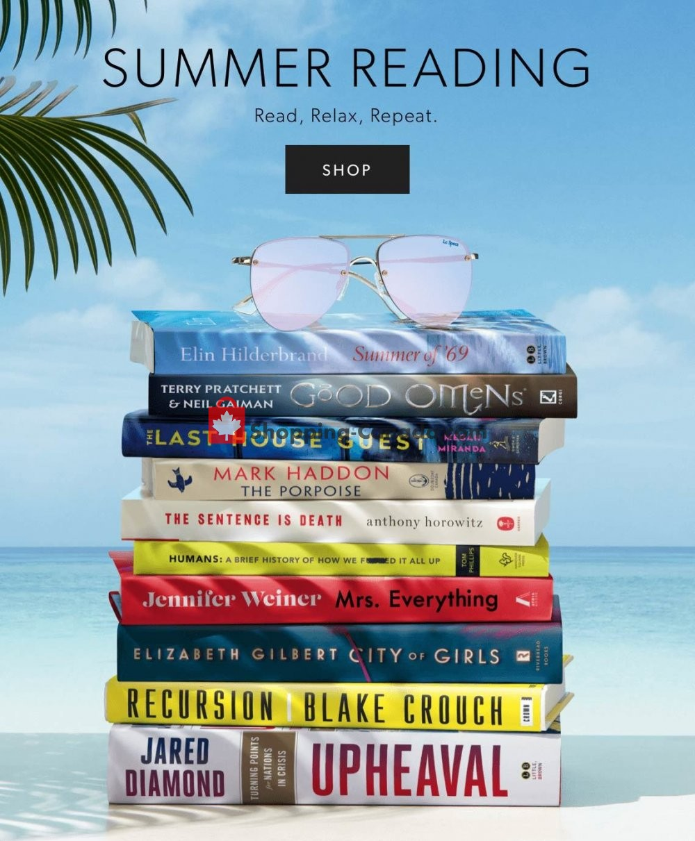 Flyer Indigo - Chapters Canada - from Tuesday June 25, 2019 to Monday July 1, 2019