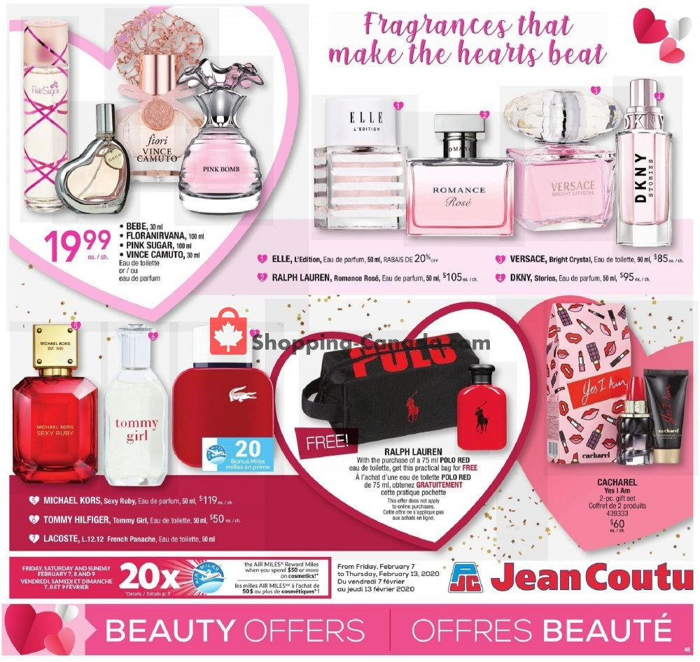 Flyer Jean Coutu Pharmacy Canada - from Friday February 7, 2020 to Thursday February 13, 2020