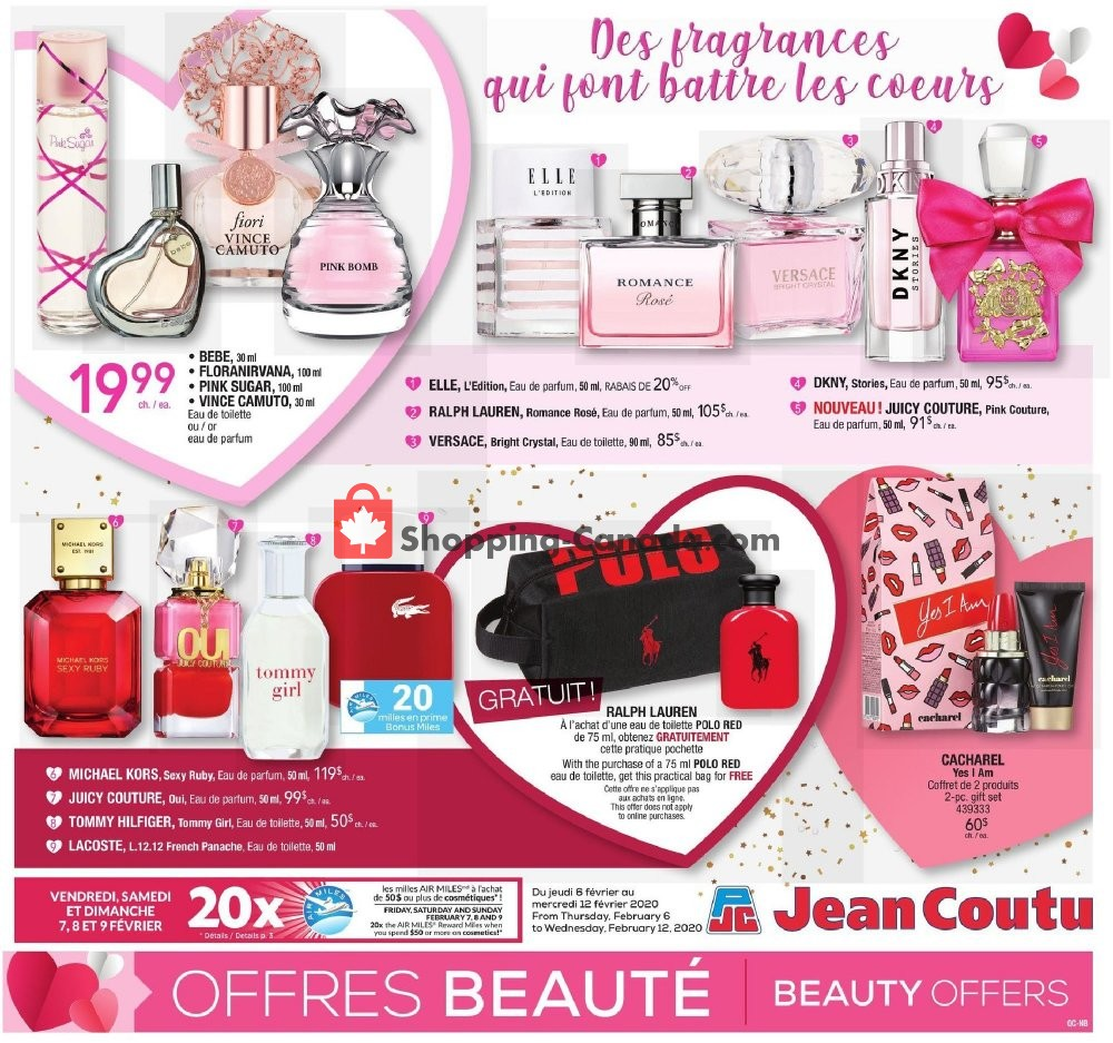 Flyer Jean Coutu Pharmacy Canada - from Thursday February 6, 2020 to Wednesday February 12, 2020
