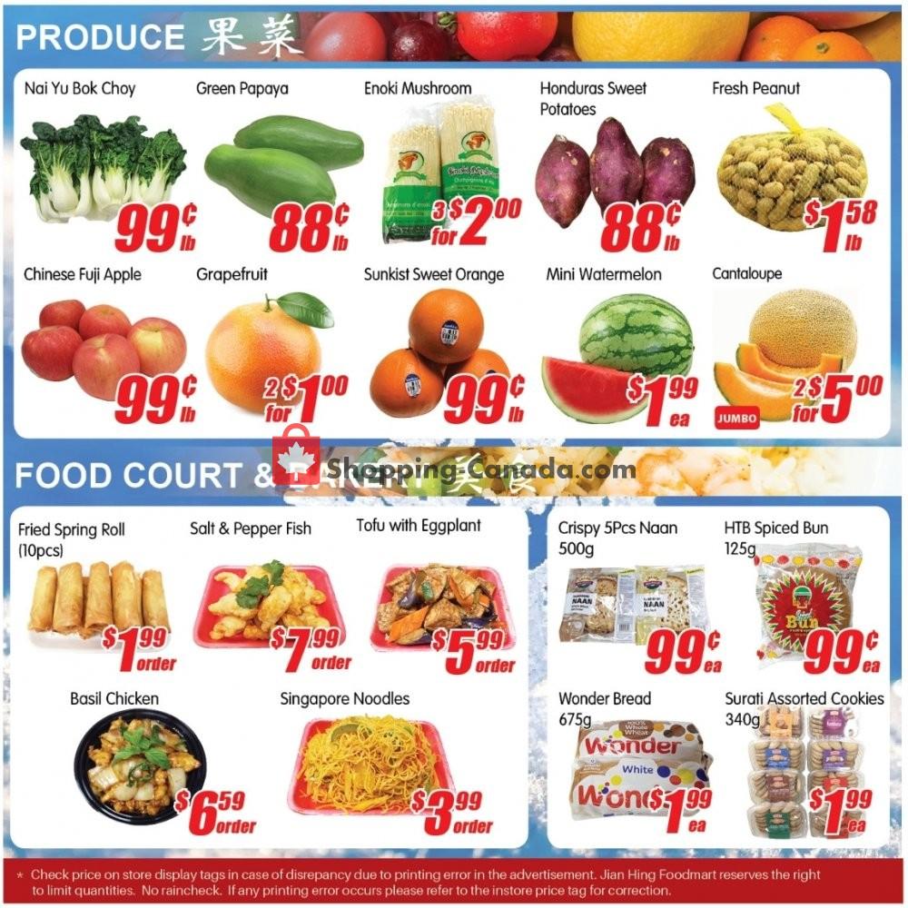Flyer Jian Hing Supermarket Canada - from Friday January 10, 2020 to Thursday January 16, 2020