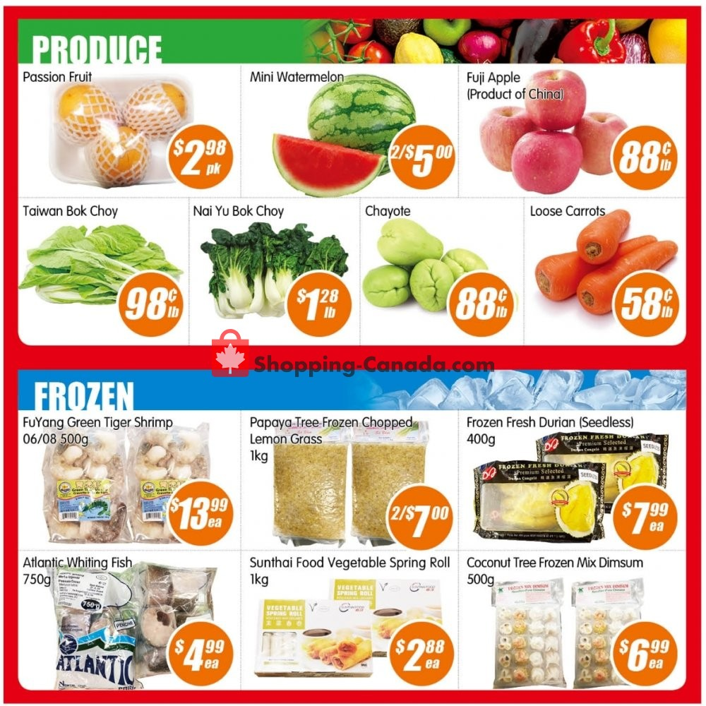 Flyer Jian Hing Supermarket Canada - from Friday January 10, 2020 to Thursday January 16, 2020