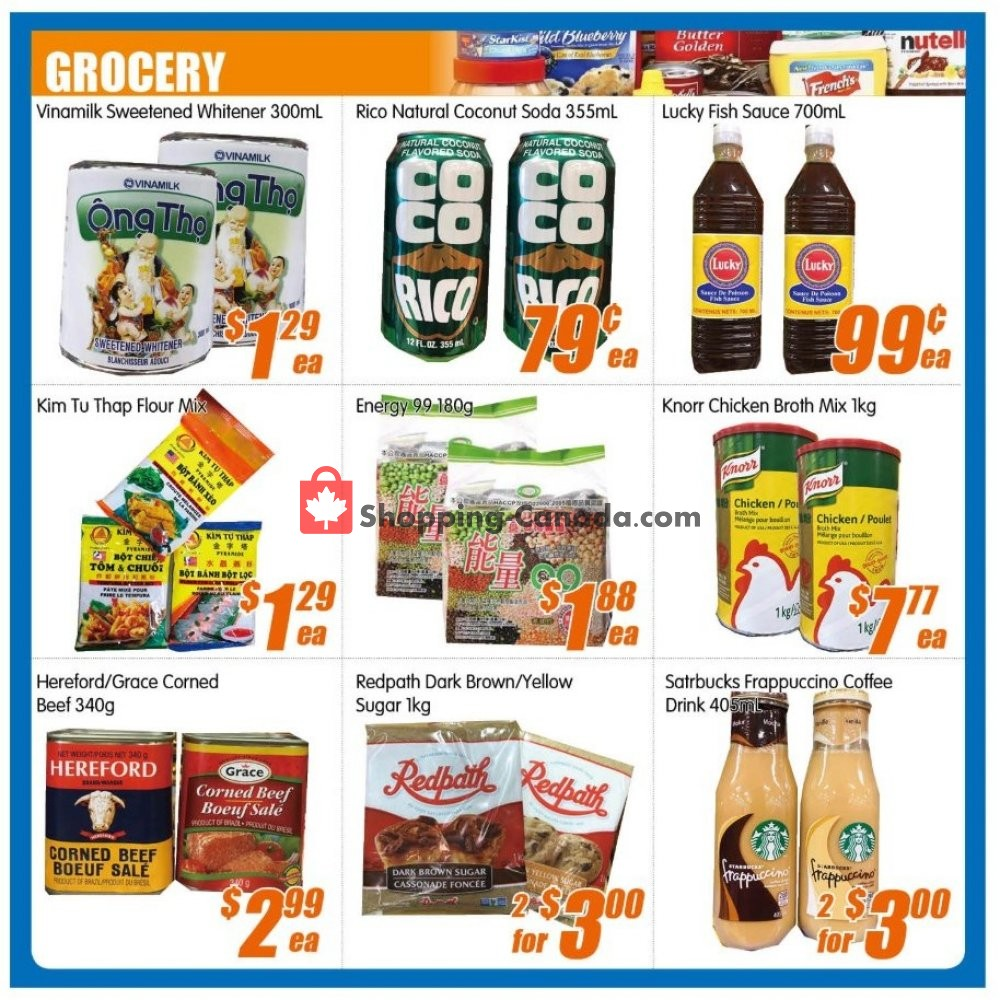 Flyer Jian Hing Supermarket Canada - from Friday August 9, 2019 to Thursday August 15, 2019