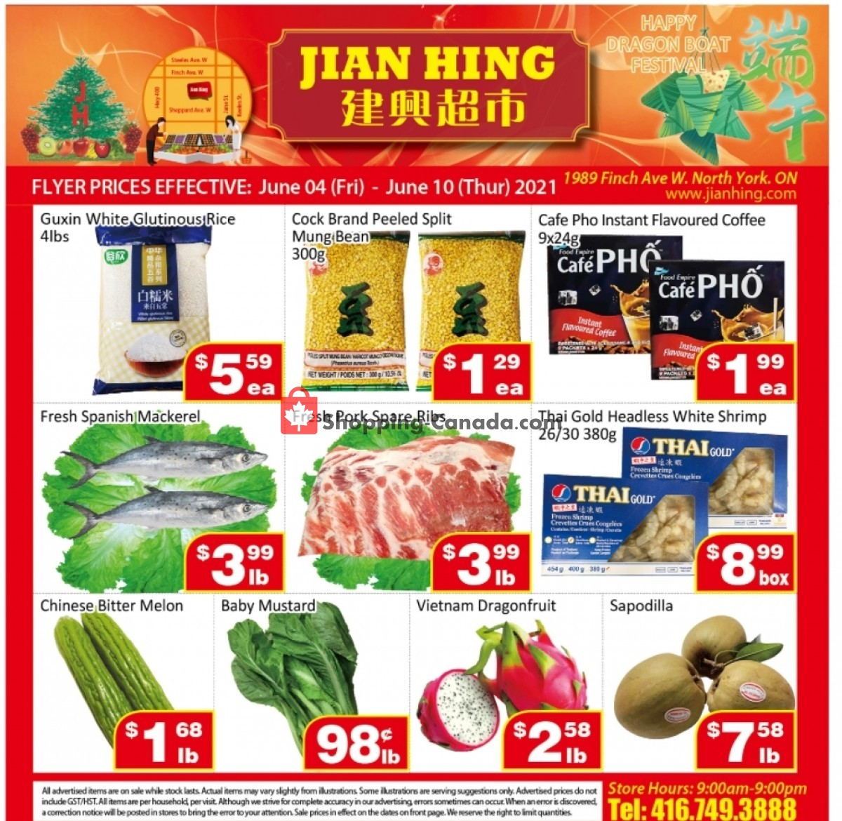 Flyer Jian Hing Supermarket Canada - from Friday June 4, 2021 to Thursday June 10, 2021