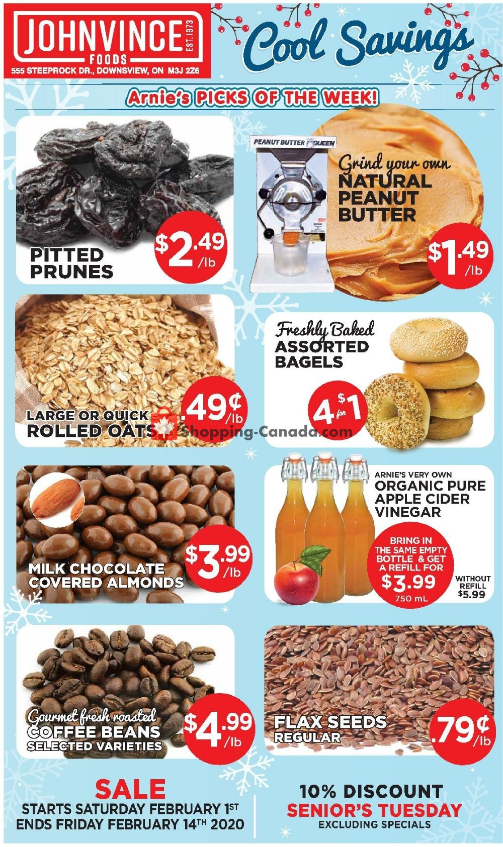 Flyer Johnvince Foods Canada - from Saturday February 1, 2020 to Friday February 14, 2020