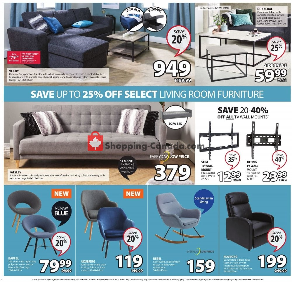 Flyer JYSK Canada - from Thursday August 8, 2019 to Wednesday August 14, 2019