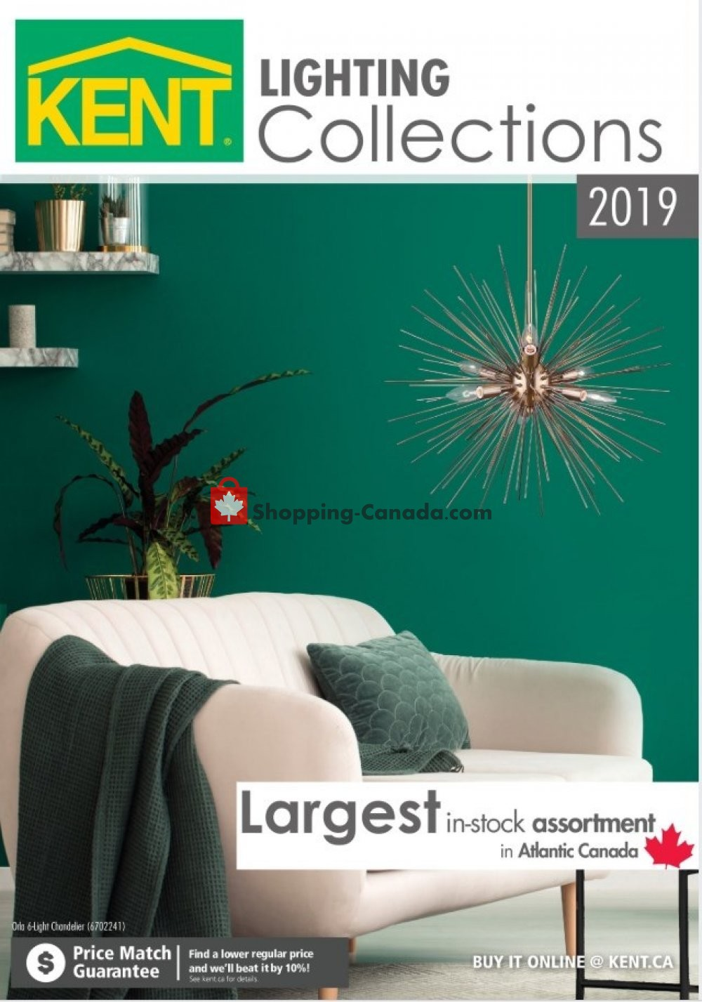 Flyer Kent Building Supplies Canada - from Monday March 11, 2019 to Tuesday December 31, 2019