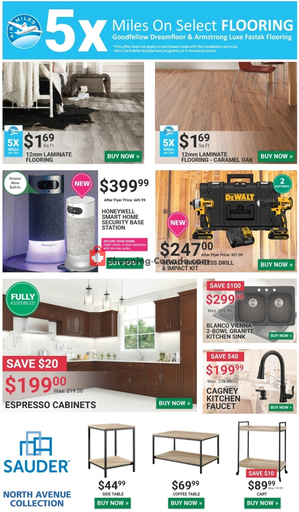 Flyer Kent Building Supplies Canada - from Wednesday March 6, 2019 to Tuesday March 12, 2019