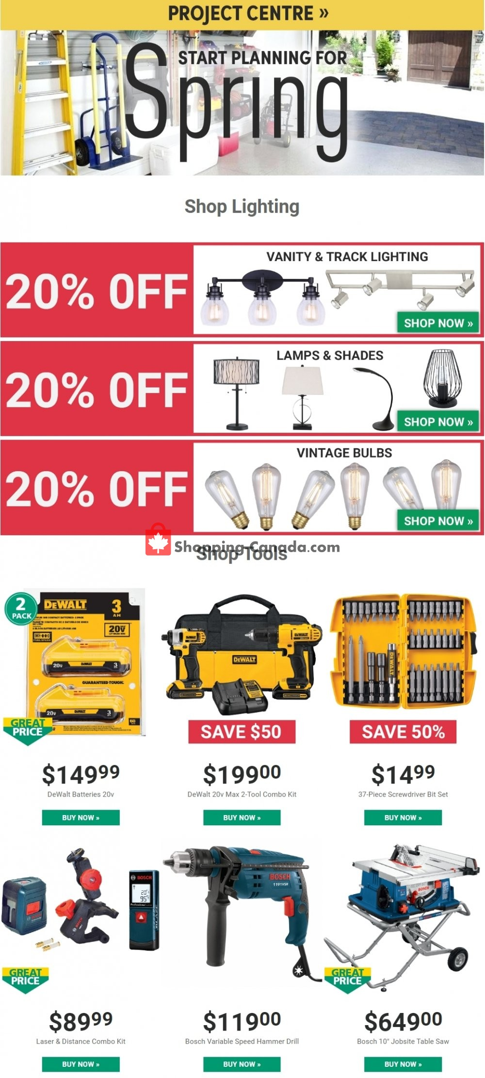 Flyer Kent Building Supplies Canada - from Tuesday March 12, 2019 to Monday March 18, 2019