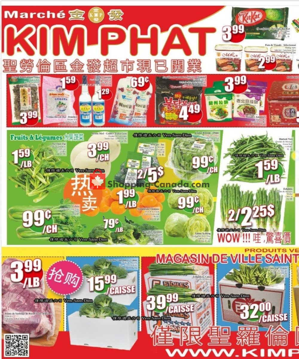 Flyer Kim Phat Canada - from Thursday January 30, 2020 to Wednesday February 5, 2020