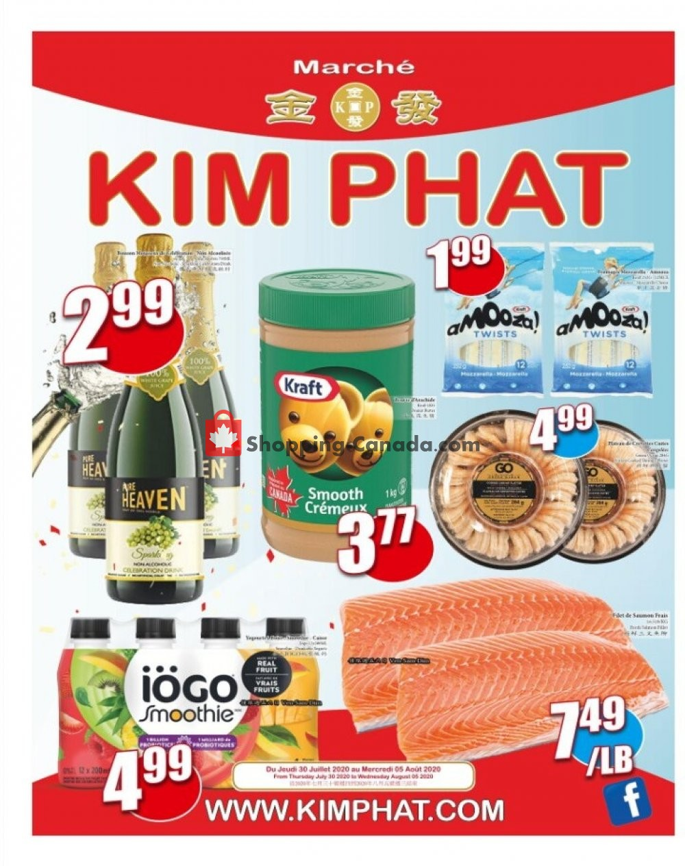 Flyer Kim Phat Canada - from Thursday July 30, 2020 to Thursday August 6, 2020