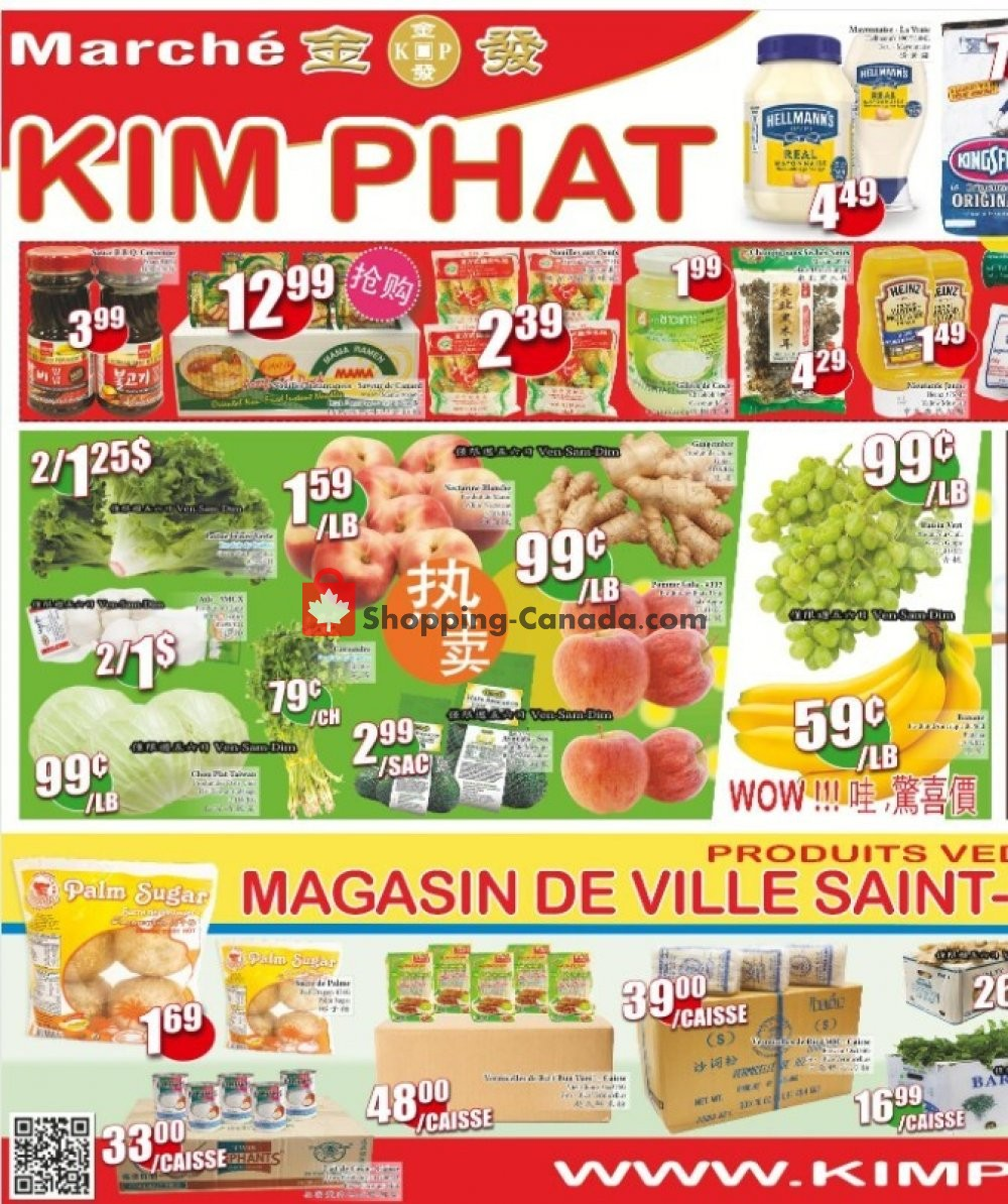 Flyer Kim Phat Canada - from Thursday July 2, 2020 to Wednesday July 8, 2020