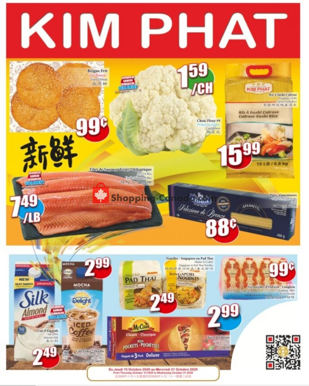 Flyer Kim Phat Canada - from Thursday October 15, 2020 to Wednesday October 21, 2020