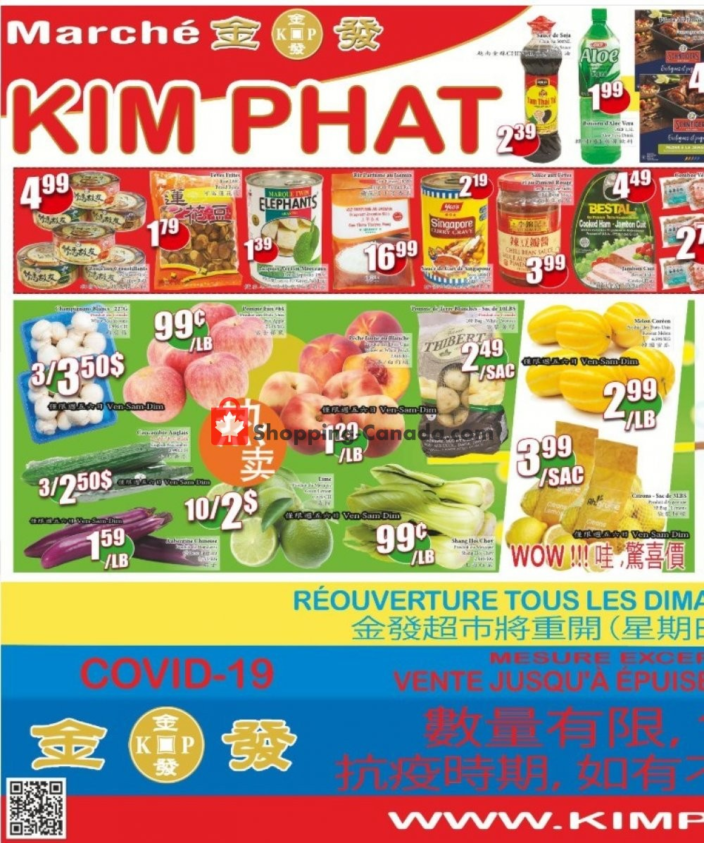 Flyer Kim Phat Canada - from Thursday May 28, 2020 to Wednesday June 3, 2020