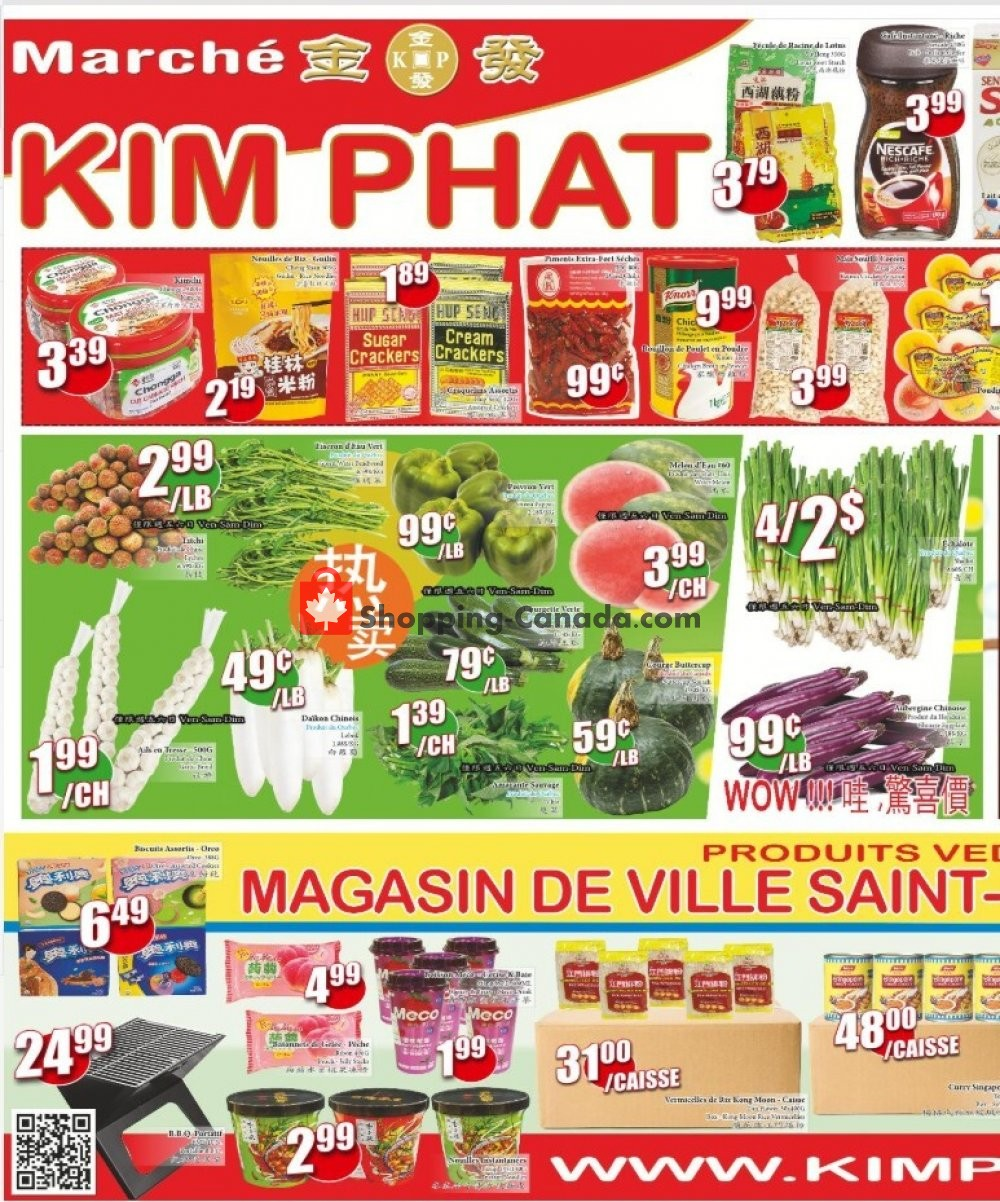 Flyer Kim Phat Canada - from Thursday August 6, 2020 to Wednesday August 12, 2020