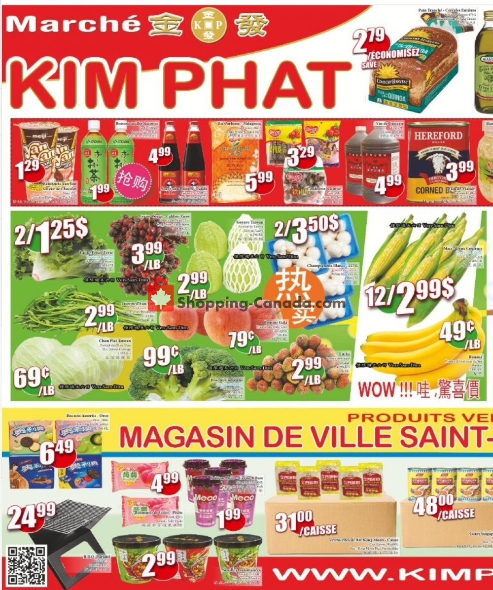 Flyer Kim Phat Canada - from Thursday July 30, 2020 to Wednesday August 5, 2020