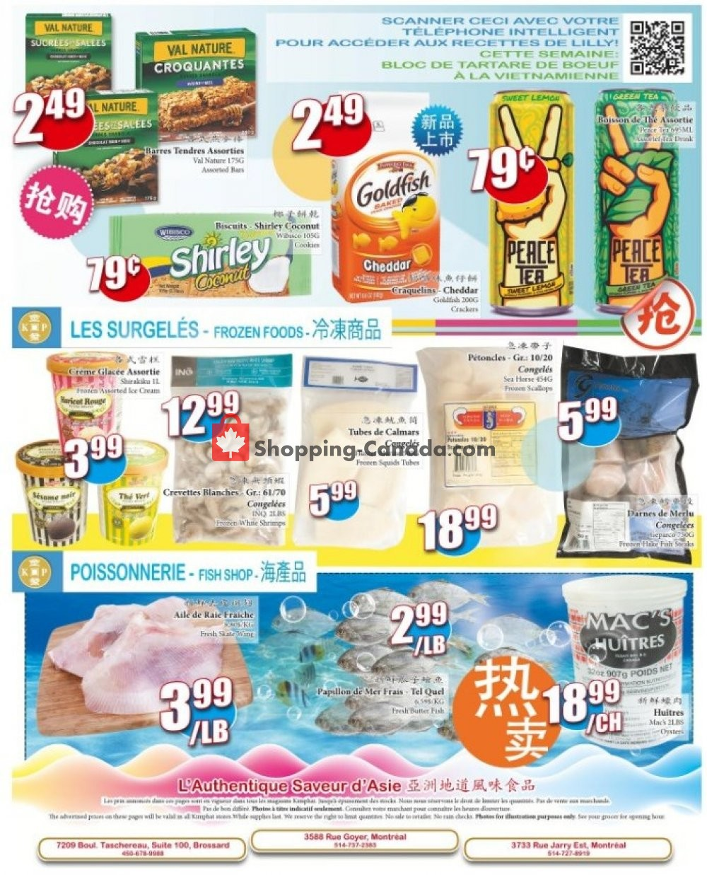 Flyer Kim Phat Canada - from Thursday August 8, 2019 to Wednesday August 14, 2019