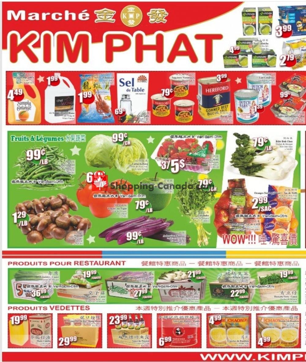 Flyer Kim Phat Canada - from Thursday February 21, 2019 to Wednesday February 27, 2019