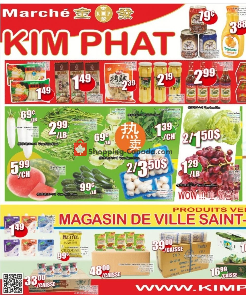 Flyer Kim Phat Canada - from Thursday July 9, 2020 to Wednesday July 15, 2020