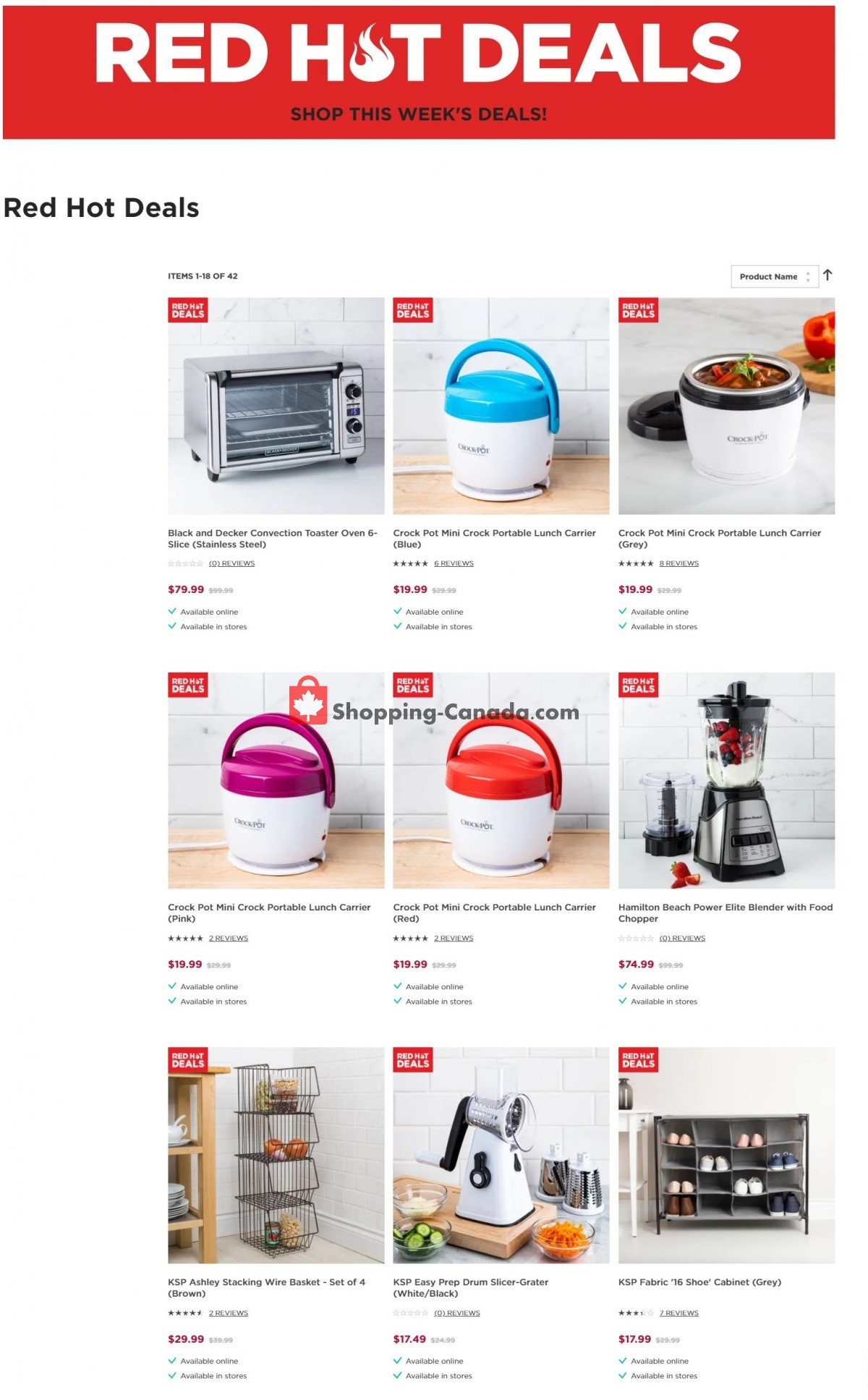 Flyer Kitchen Stuff Plus Canada - from Tuesday September 7, 2021 to Monday September 13, 2021