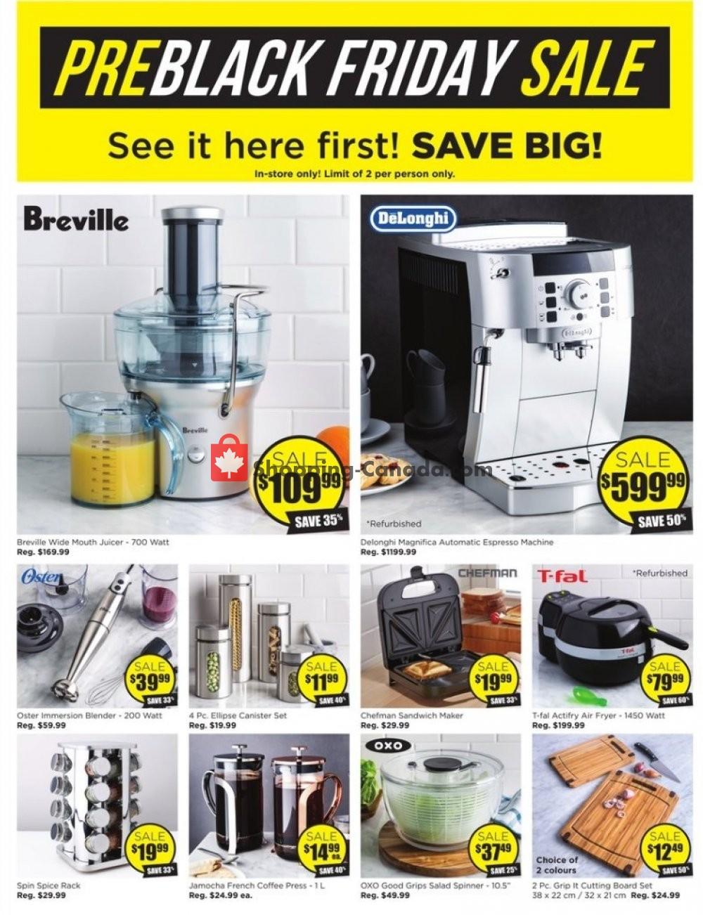 Flyer Kitchen Stuff Plus Canada - from Thursday November 7, 2019 to Sunday November 17, 2019