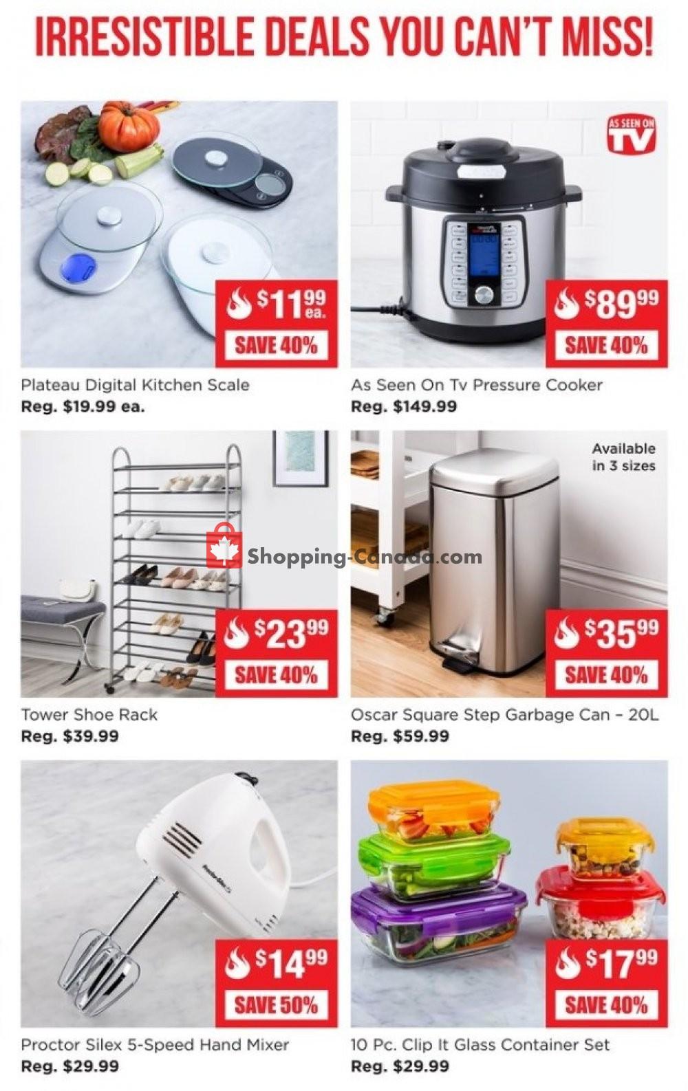 Flyer Kitchen Stuff Plus Canada - from Monday January 13, 2020 to Sunday January 19, 2020
