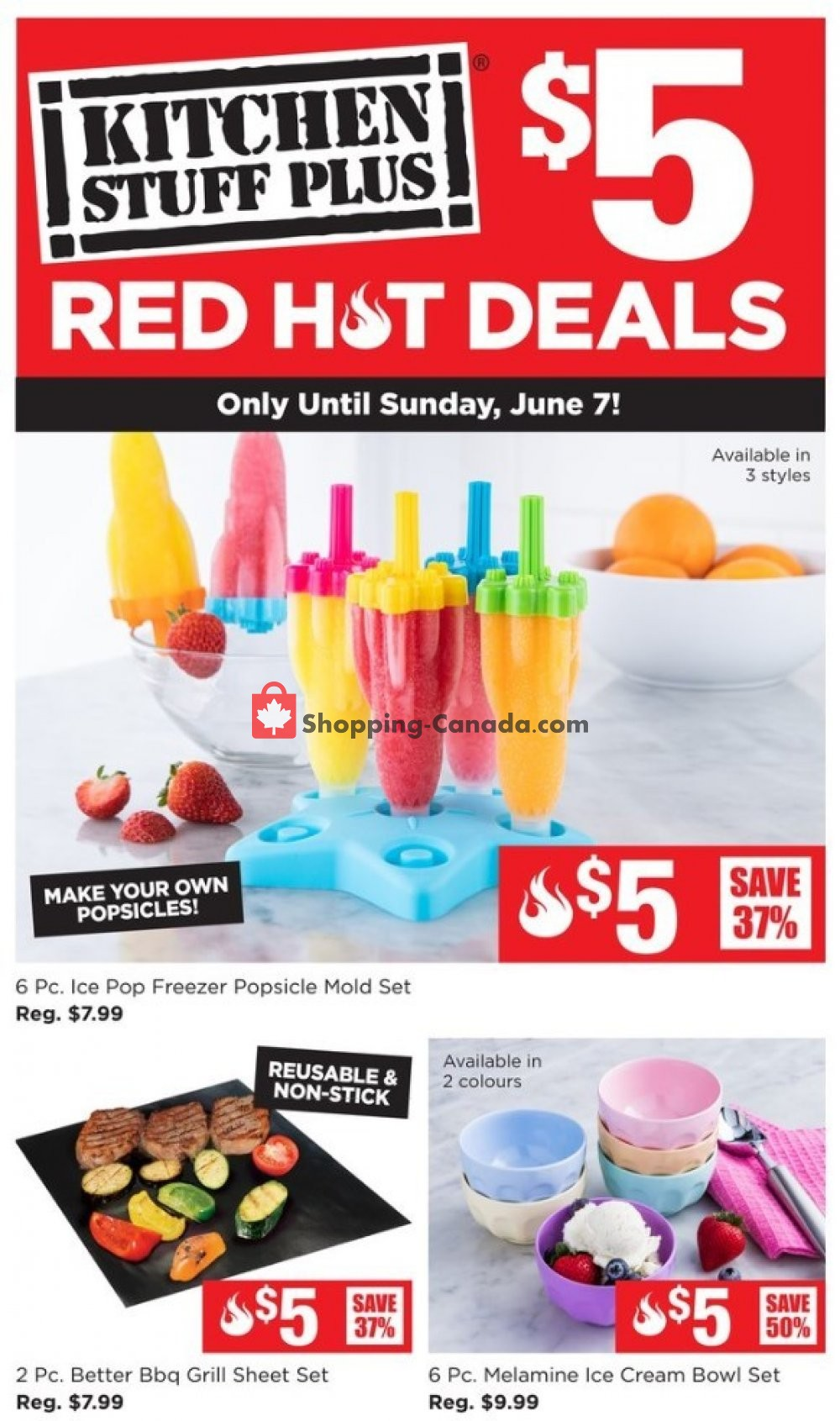 Flyer Kitchen Stuff Plus Canada - from Monday June 1, 2020 to Sunday June 7, 2020