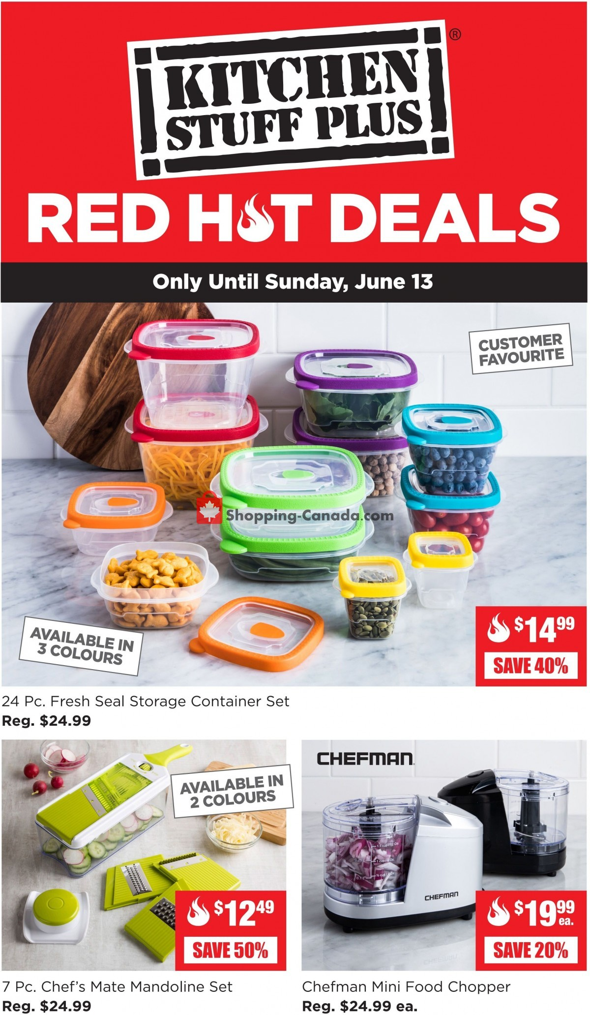 Flyer Kitchen Stuff Plus Canada - from Monday June 7, 2021 to Sunday June 13, 2021