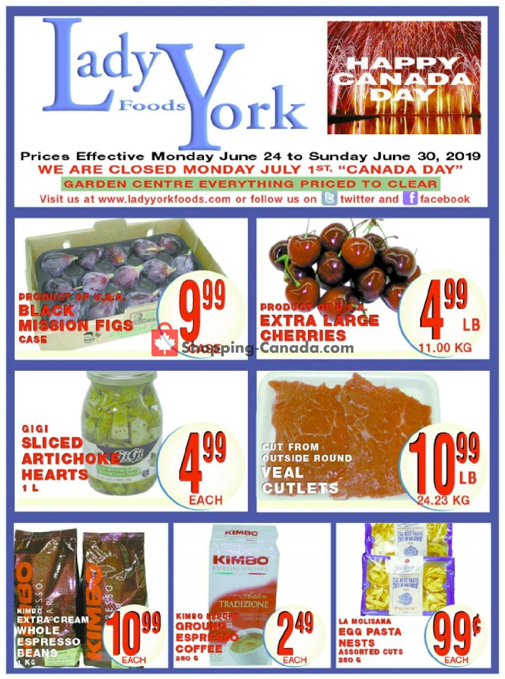 Flyer Lady York Foods Canada - from Monday June 24, 2019 to Sunday June 30, 2019