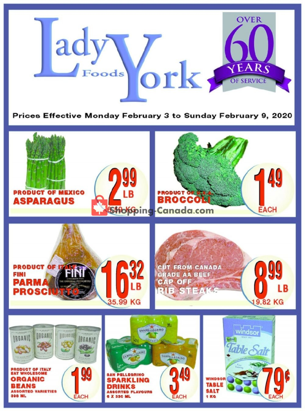 Flyer Lady York Foods Canada - from Monday February 3, 2020 to Sunday February 9, 2020