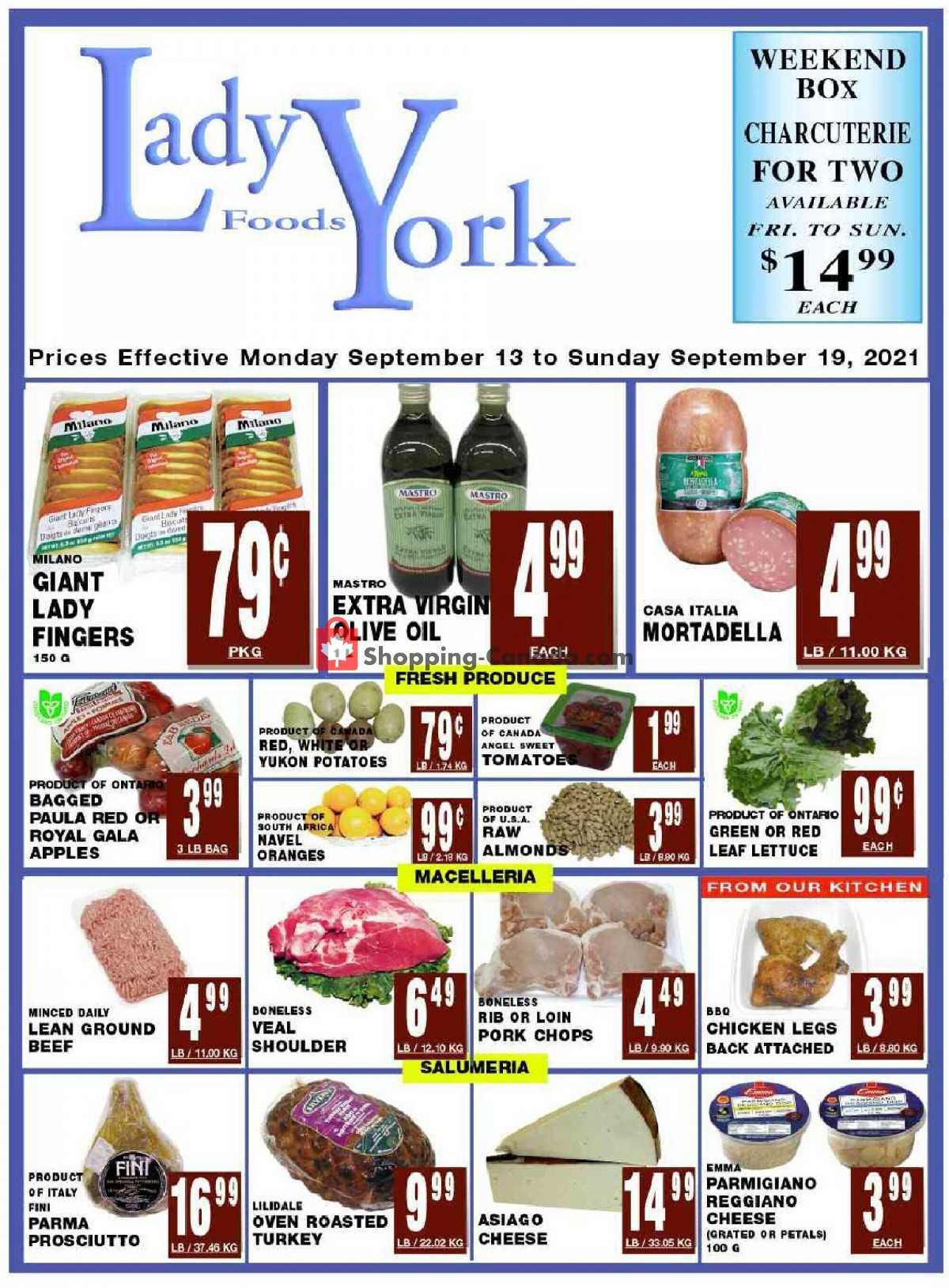 Flyer Lady York Foods Canada - from Monday September 13, 2021 to Sunday September 19, 2021