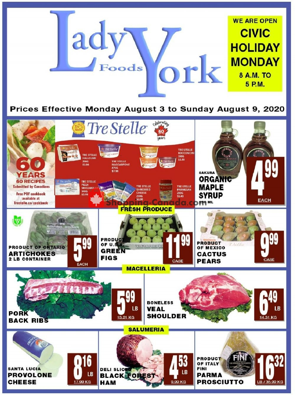 Flyer Lady York Foods Canada - from Monday August 3, 2020 to Sunday August 9, 2020