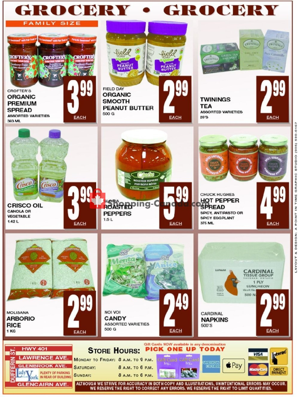 Flyer Lady York Foods Canada - from Monday January 13, 2020 to Sunday January 19, 2020