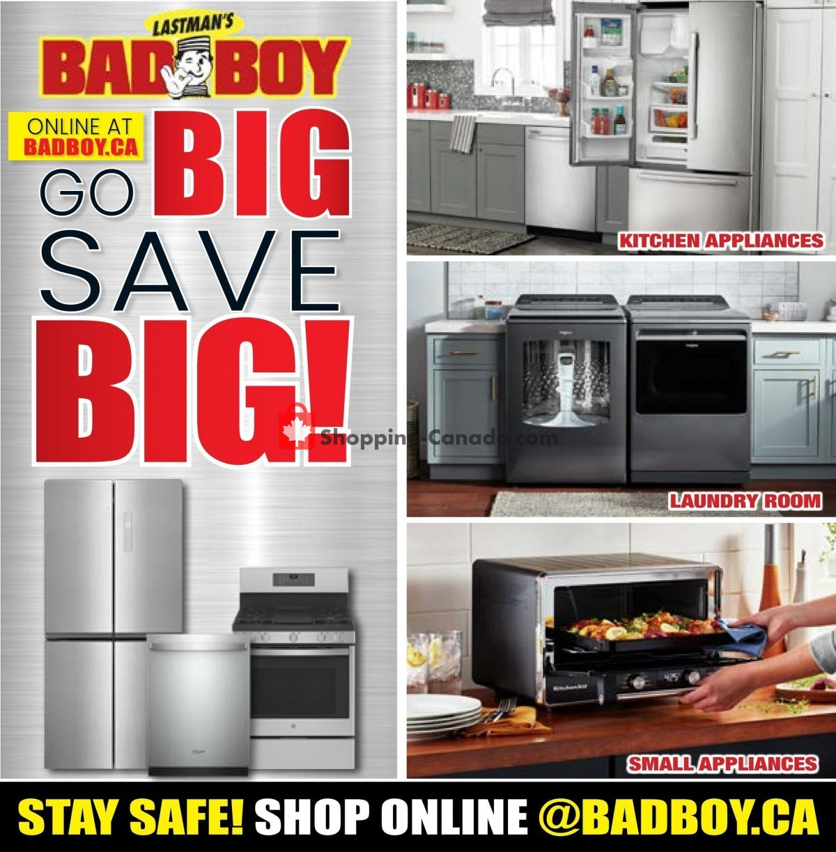 Flyer Lastman's Bad Boy Canada - from Thursday June 3, 2021 to Thursday June 24, 2021