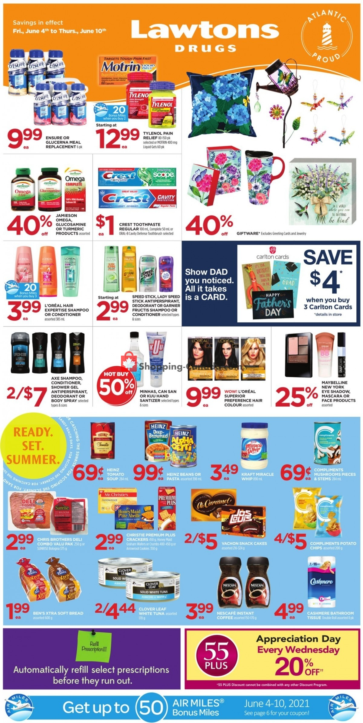 Flyer Lawtons Drugs Canada - from Friday June 4, 2021 to Thursday June 10, 2021