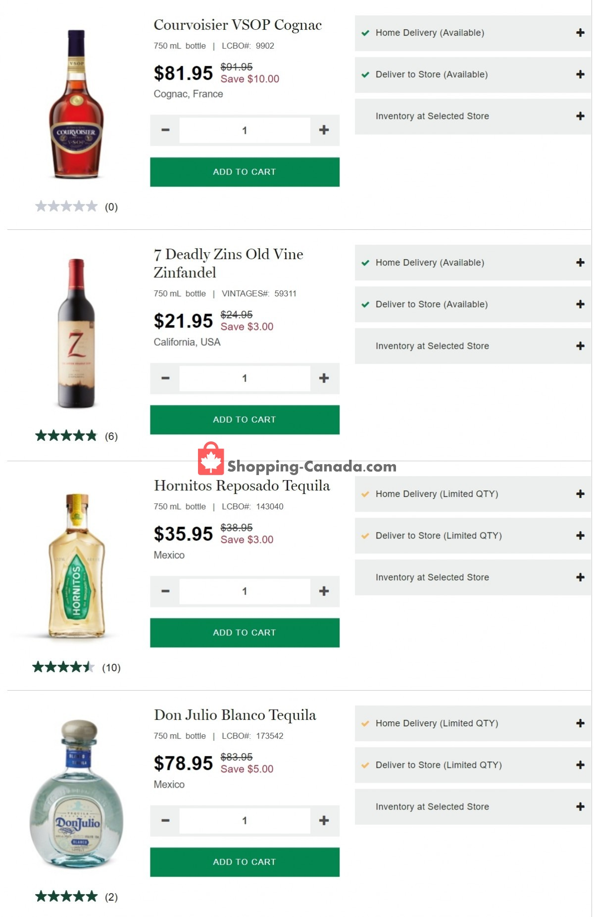 Flyer LCBO Canada - from Thursday April 29, 2021 to Wednesday May 5, 2021