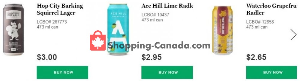 Flyer LCBO Canada - from Tuesday May 26, 2020 to Tuesday June 2, 2020