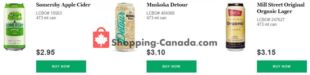 Flyer LCBO Canada - from Wednesday August 5, 2020 to Tuesday August 18, 2020