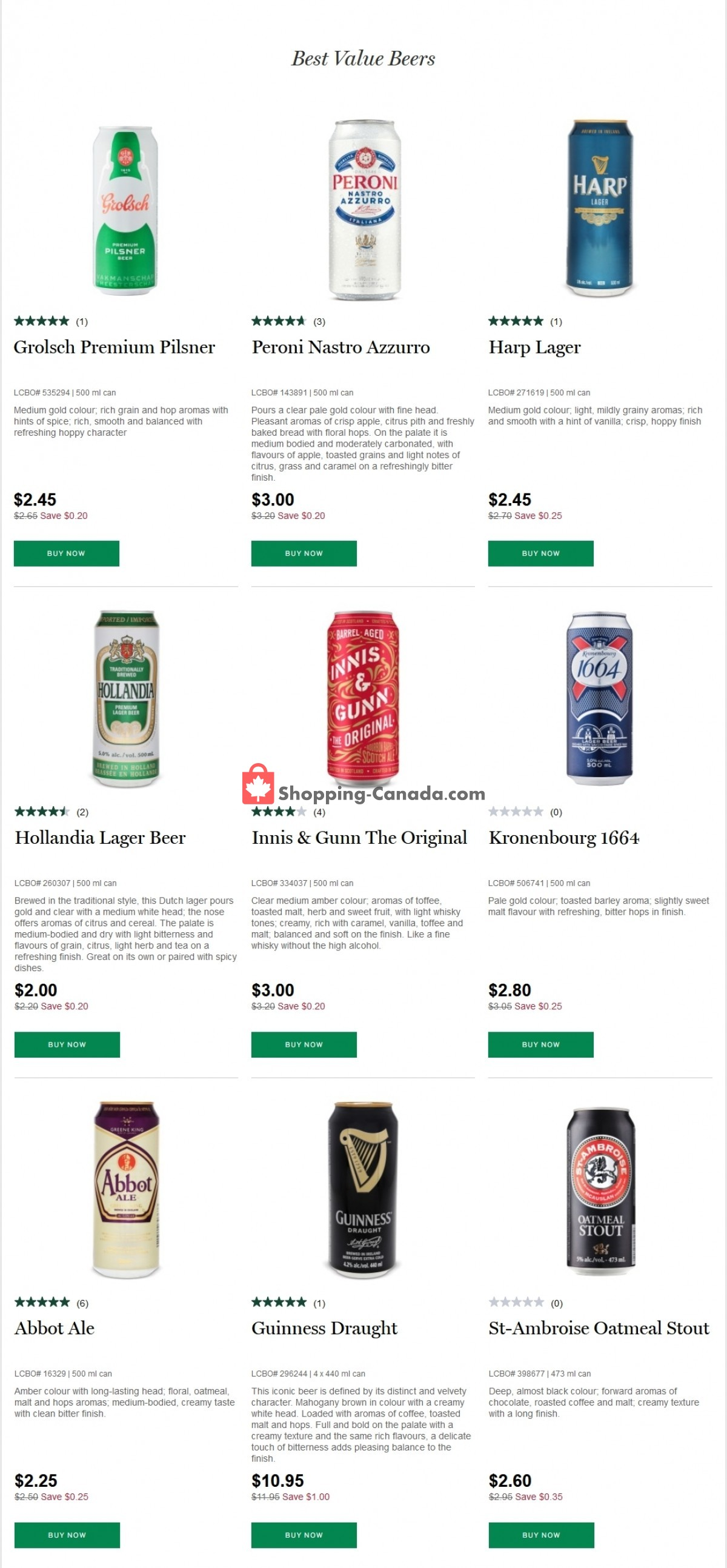 Flyer LCBO Canada - from Thursday March 4, 2021 to Wednesday March 10, 2021